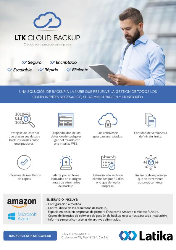 LTK Cloud BackUp